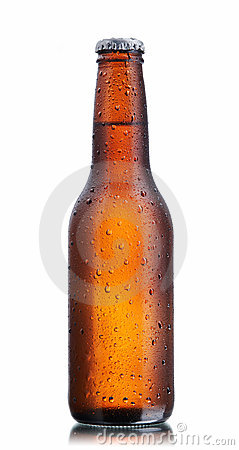 Free Brown Beer Bottle Stock Images - 7370424