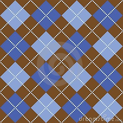 Duck Billed Platypus Swimming Blue+and+brown+plaid+f...