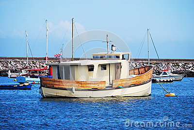 Brown boat 1