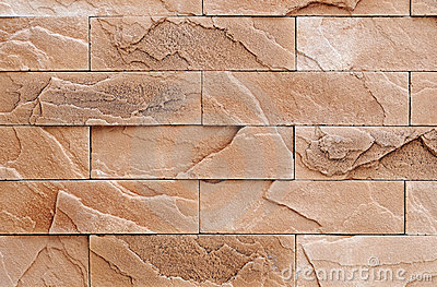 Brown Brick Stone Wall Texture Stock Image Image 13054201