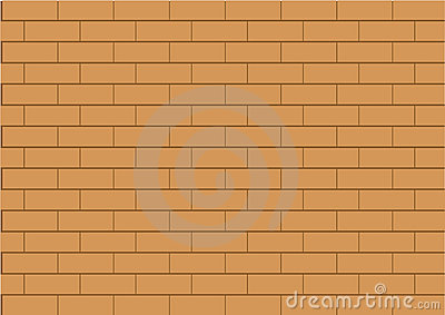 a brown brick wall