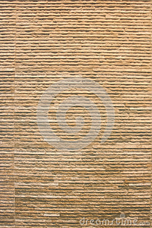 Brown brick wall texture for background