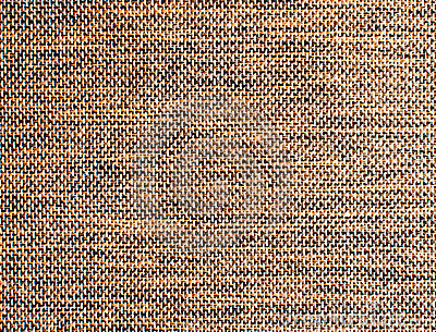 Brown burlap surface detail