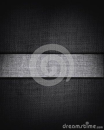 Brown canvas texture with dark stripe, background