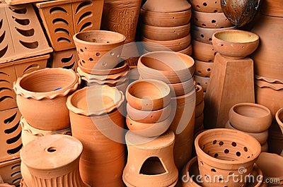 Brown Ceramic Pottery