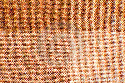 Brown Checkered Fabric Pattern