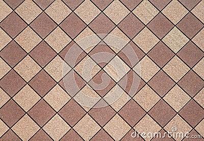Brown Checkered wall horizontal