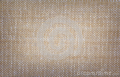 Brown cotton fabric texture