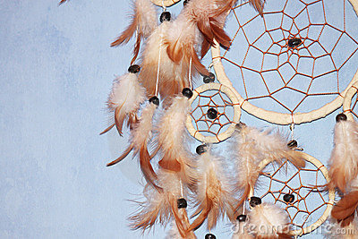 A brown Dreamcatcher