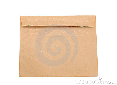 A brown envelop