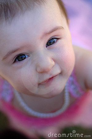 Brown Eyes Looking Up Royalty Free Stock Photo - Image: 7229765