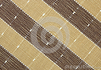 Brown fabric striped texture