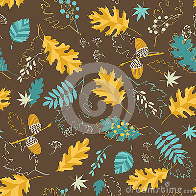 Brown fall pattern