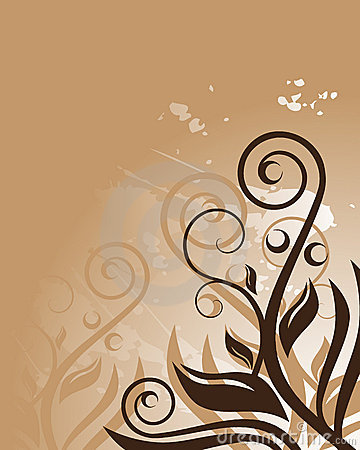 brown floral myspace layout brown floral background royalty free stock photo image