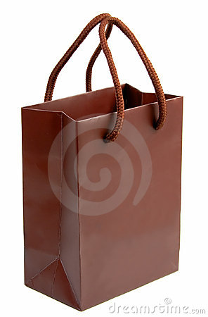 Brown gift bag 1