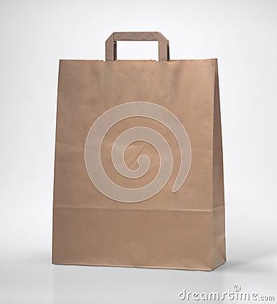 Brown gift bag 1