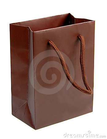 Brown gift bag 2