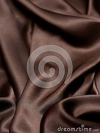 Brown jedwabiu tło