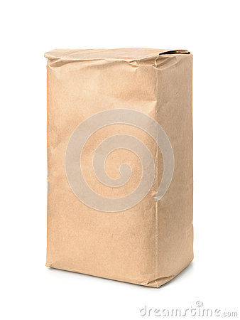 Free Brown Kraft Paper Food Bag Stock Photos - 80977643