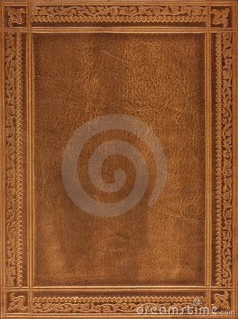 Free Brown Leather Book Cover Royalty Free Stock Images - 7811399