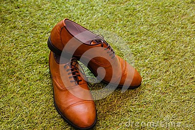 Brown Leather Lace Up Shoes Free Public Domain Cc0 Image
