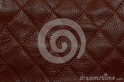Brown leather pattern