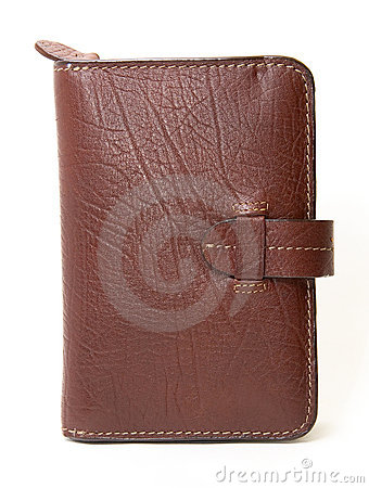 Free Brown Leather Wallet Or Purse Stock Images - 7361344