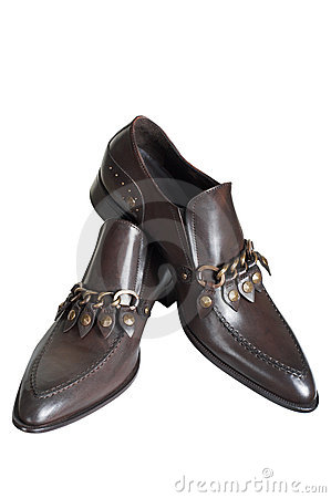 Free Brown Low Shoes Royalty Free Stock Photos - 2258928