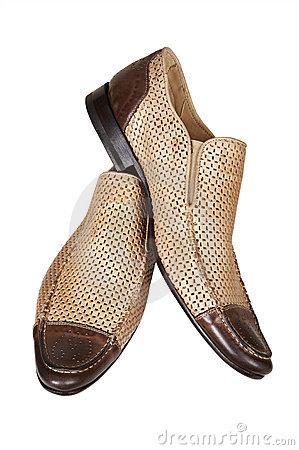Brown low shoes