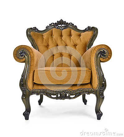 Brown Luxurious armchair