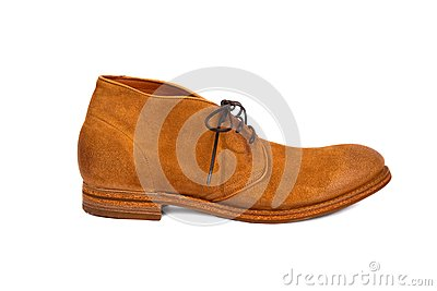 Brown male shoe-4