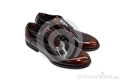 Brown male shoes-2