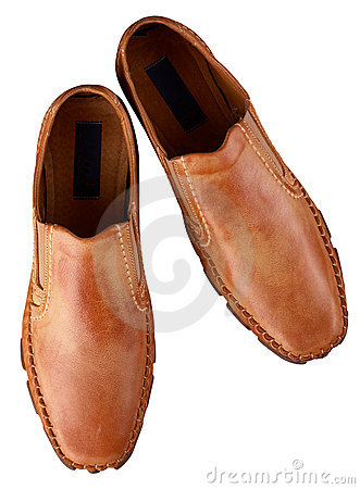 Free Brown Man S Shoes Royalty Free Stock Image - 18155776
