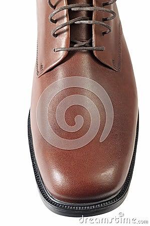 Brown men s shoes.