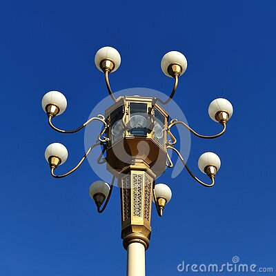 Brown Metal Street Lamp Under Clear Blue Sky During Daytime Free Public Domain Cc0 Image