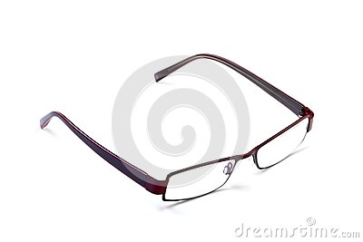 Brown modern glasses
