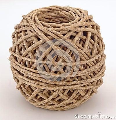 Brown-Netzkabelkugel
