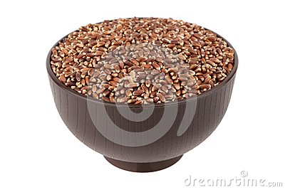 Brown oat grain
