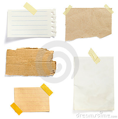 Free Brown Old Paper Note Background Royalty Free Stock Images - 12497829