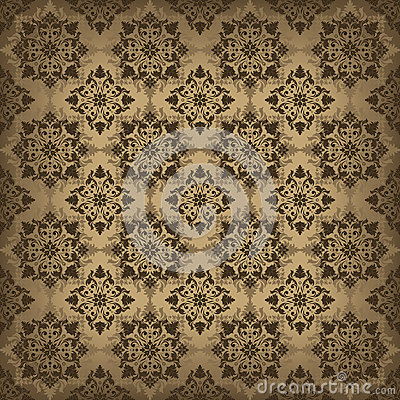 Brown ornamental background