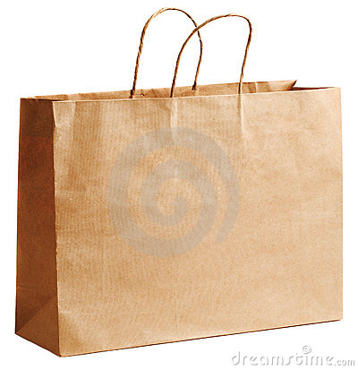 Free Brown Paper Bag Royalty Free Stock Photo - 16532325