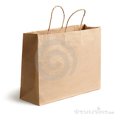 Free Brown Paper Bag Stock Photos - 17034833