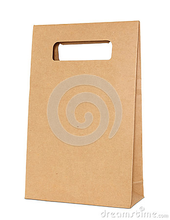 Free Brown Paper Bag Royalty Free Stock Photos - 29334648