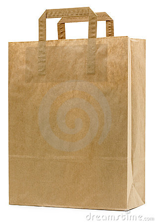 Free Brown Paper Bag Royalty Free Stock Photography - 3582517