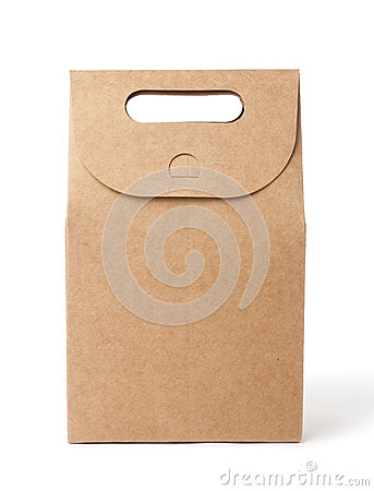 Free Brown Paper Bag Royalty Free Stock Photography - 42910657