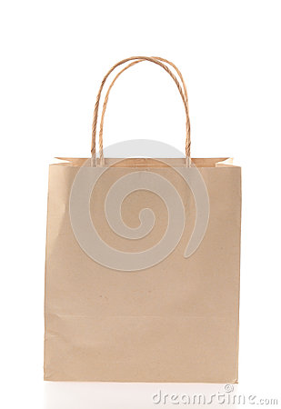 Free Brown Paper Bag Royalty Free Stock Images - 45542429