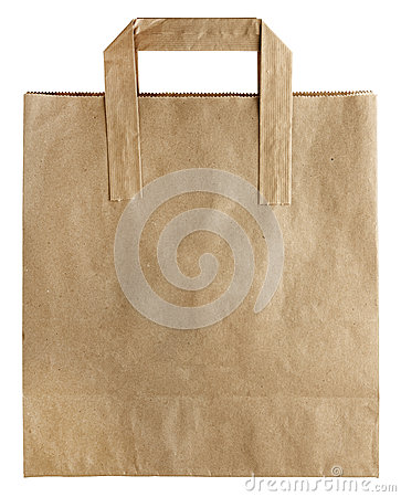 Free Brown Paper Bag Stock Photography - 48669122