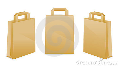 Brown Paper Bag Icons