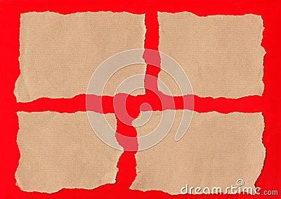 Brown paper tears