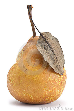 Brown pear